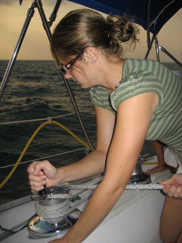 Laura Sailing