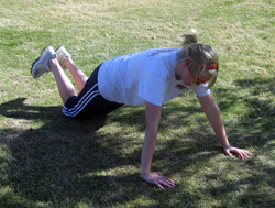 Scaled Push-up